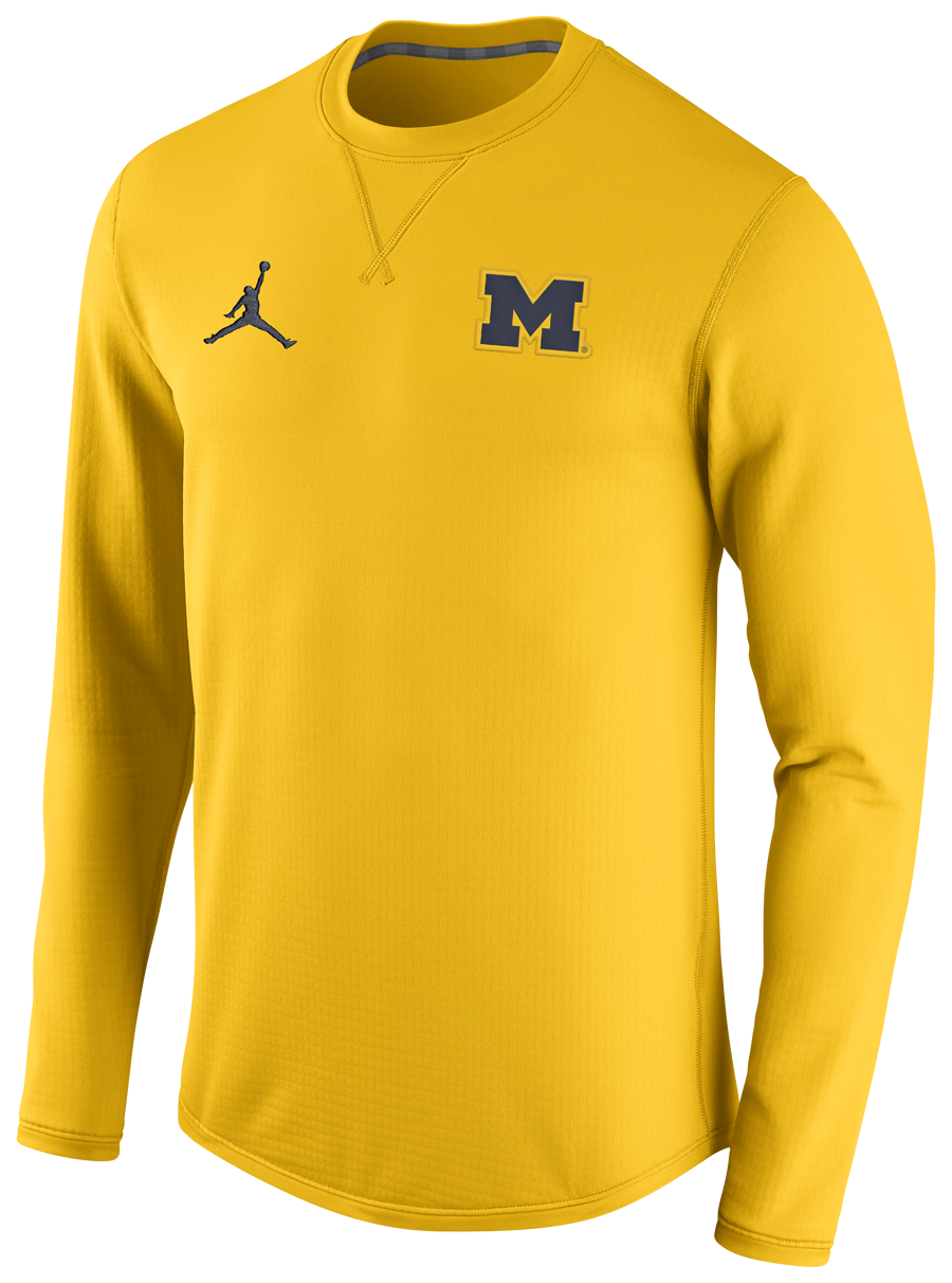 16a2f2593b01ab The first official images of Michigan s new Nike and Jumpman apparel.