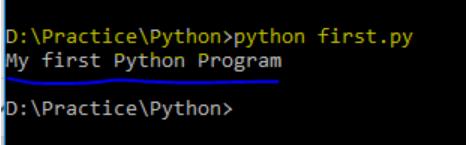 Python blog