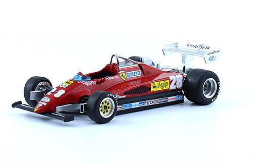 Ferrari 126 C2 1982 Mario Andretti f1 the car collection