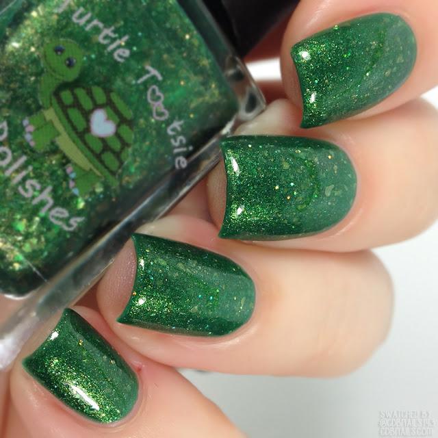 Turtle Tootsie Polishes-Emerald Diva