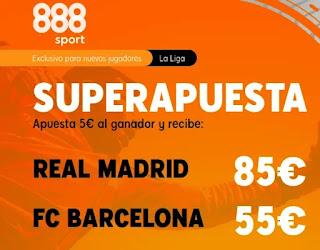 888sport superapuesta Real Madrid vs Barcelona 10-4-2021