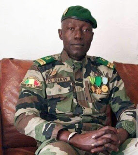 Malick Diaw the young soldier that saw to the ousting of Ibrahim Boubacar Keita