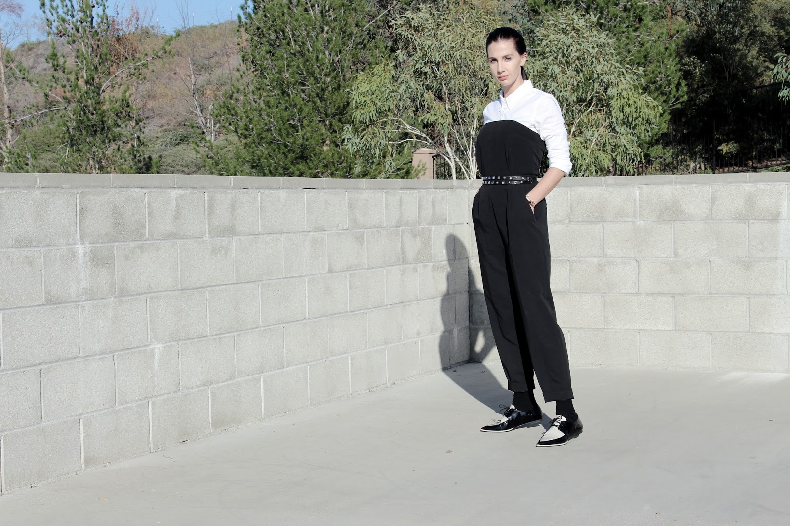jumpsuit street style
