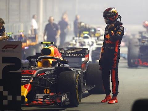 Szingapúri Nagydíj - Verstappen volt az első szabadedzés legjobbja