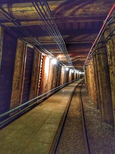 Bochnia kopalnia soli, podziemne korytarze