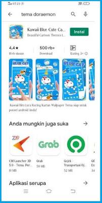Aplikasi Tema Doraemon