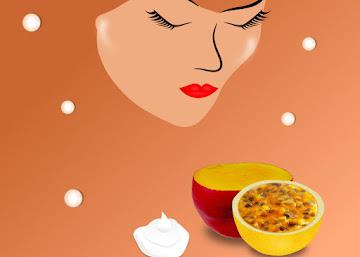 Receita Contra Flacidez do Rosto: Iogurte com Manga e Maracujá