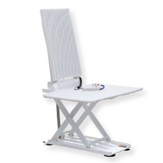 All White Aquatec Beluga Bath Lift Chair