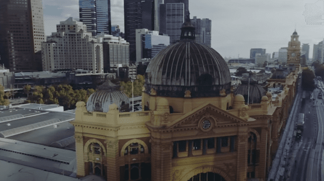 ملبورن  هي عاصمة ولاية فيكتوريا الأسترالية
