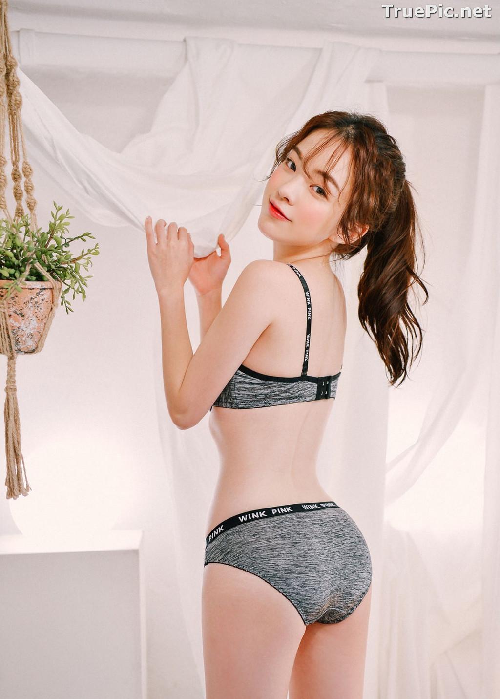 Image Korean Lingerie Queen – Haneul – Comfy in Cotton Lingerie - TruePic.net - Picture-4