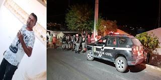 Homem é assassinado com vários tiros no inicio da noite em Picuí