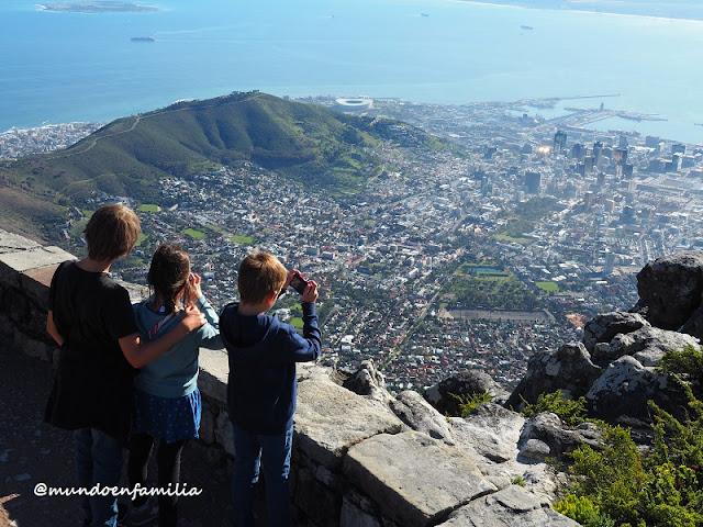 Cape Town desde la Table Mountain