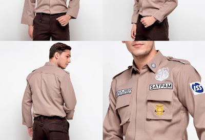 SERAGAM SATPAM/SECURITY TERBARU 2021