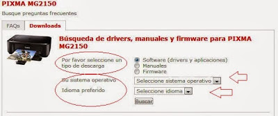 select the driver for your printer