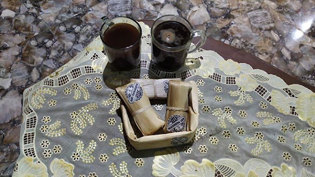 Kopi Pringgading Purbalingga, Bungkus Kemasan dari Besek Bambu