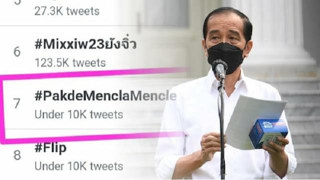 Trending #PakdeMenclaMencle, Netizen: Ingkar Janji dan Tidak Amanah, Turun Lebih Terhormat!