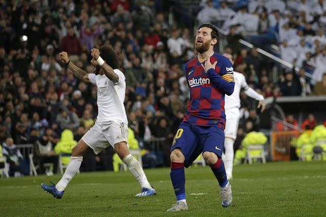 Real Madrid beat Barcelona
