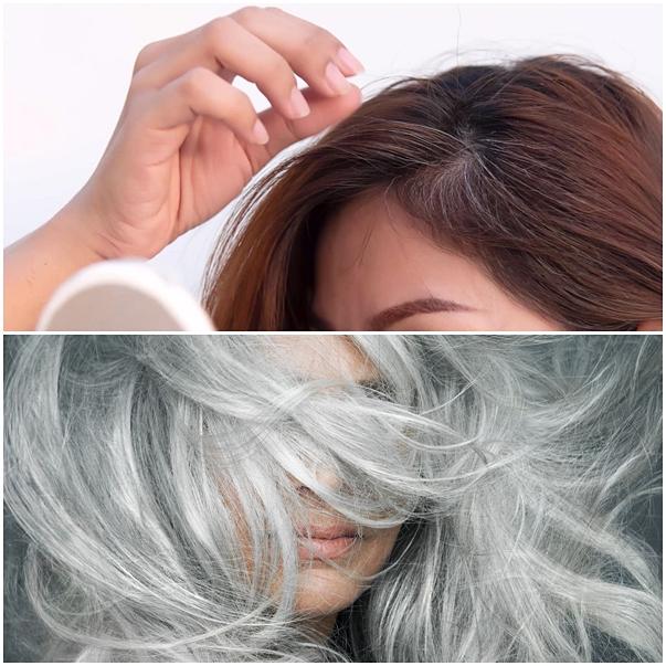 assumir o cabelo branco