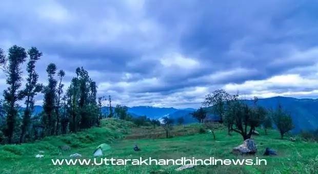 Uttarakhand Weather News: जिलों में भारी बारिश के आसार, येलो अलर्ट जारी