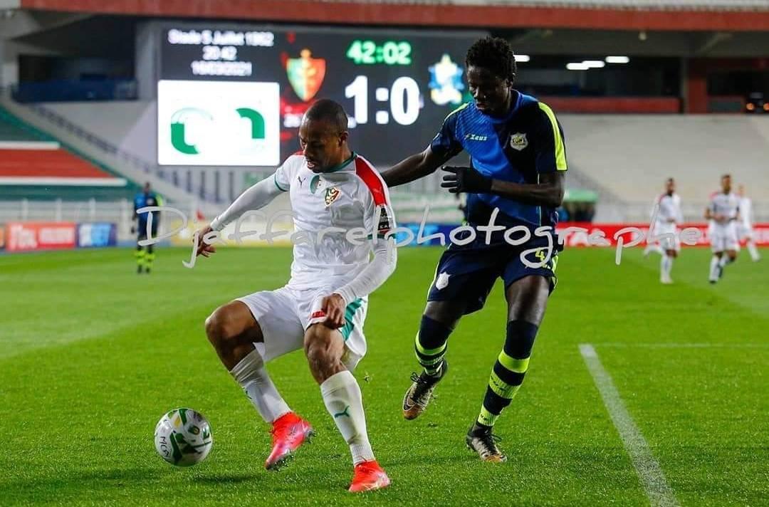 رابطة أبطال إفريقيا: مولودية الجزائر تحقق الأهم أمام تونغيث السنغالي