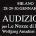 Traiectoriae de Italia cobra 83 euros por audicionar para dos funciones de 'Las bodas'