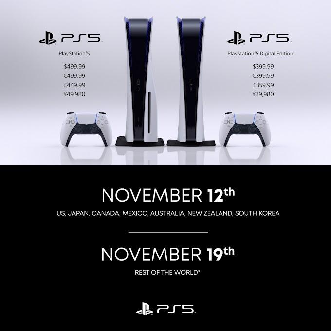 PlayStation 5 costará desde los $499.990 y la preventa parte este 18 de septiembre en Chile