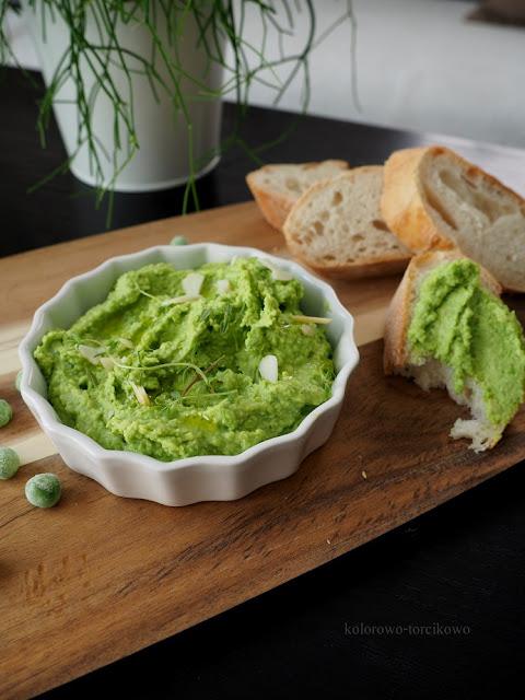 zielona pasta do kanapek