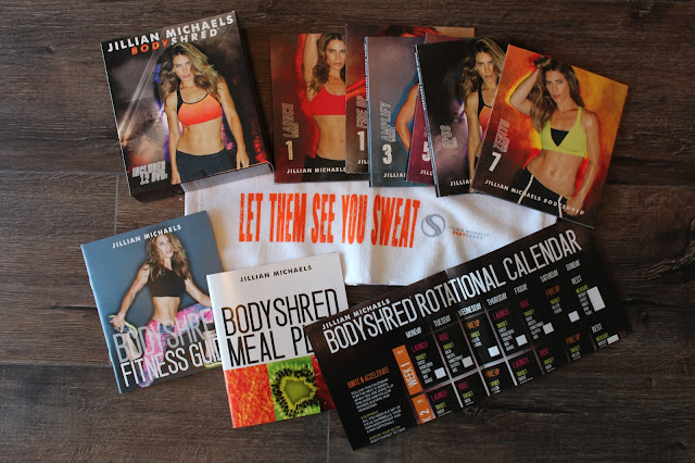 What comes with Jillian Michaels BodyShred program