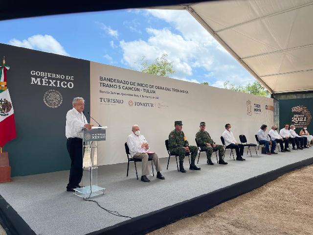 la construcción estará a cargo de los ingenieros militares de la Secretaría de la Defensa Nacional.