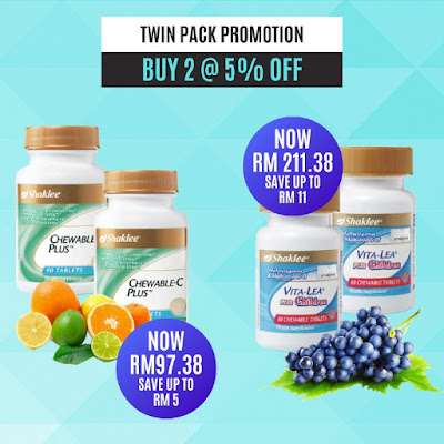 Promosi Twin Pack Januari 2020