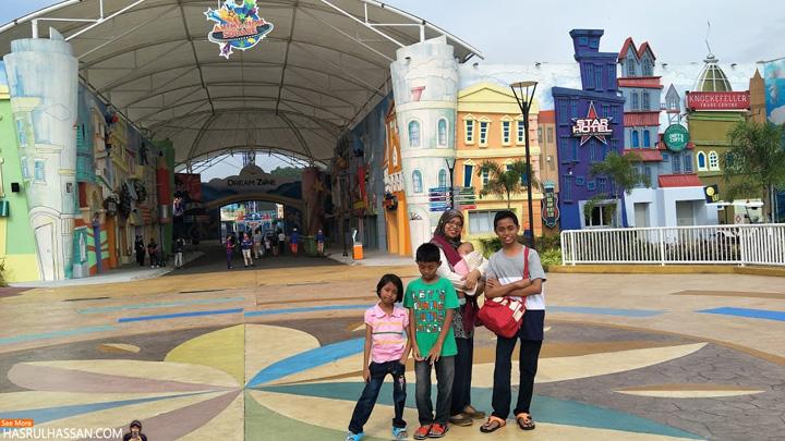 Bercuti di Movie Animation Park Studios Perak