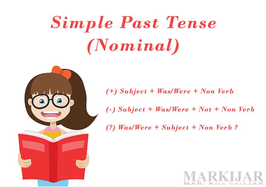 Simple Past Tense Nominal Lengkap Pengertian Rumus Dan Contoh Markijar
