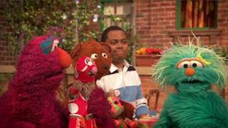 Chris, Baby Bear, Rosita, Telly, Sesame Street Episode 4408 Mi Amiguita Rosita season 44