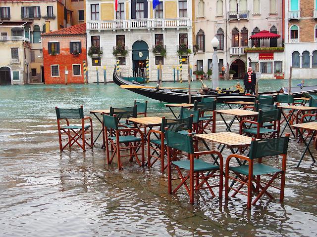 Jak zjistíte předem, že bude v Benátkách vysoká voda?