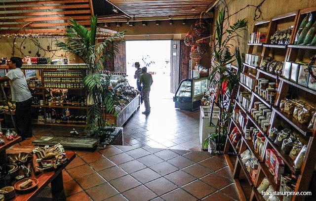 Empório Epicure, Antigua Guatemala, ponto de venda de produtos tradicionais