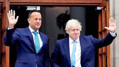 """Johnson-Varadkar találkozó: """"van olyan ösvény, amely elvezethet a megállapodáshoz"""""""