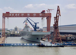 LHD Type 075 Kedua AL Tiongkok