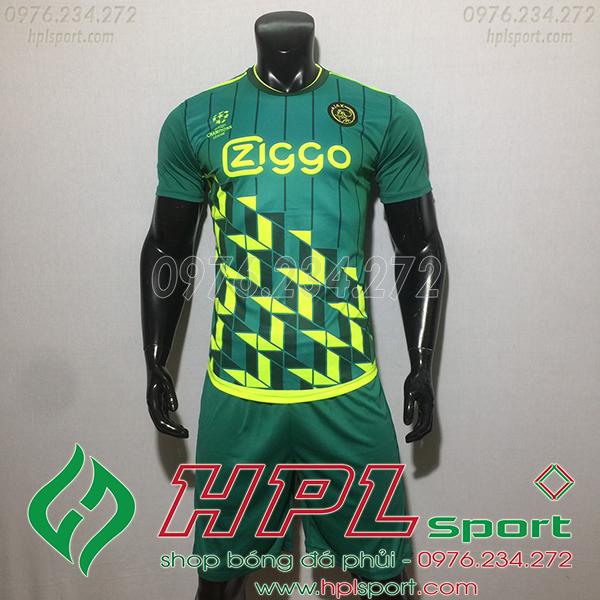 Áo CLB Ajax training6 màu xanh 2020