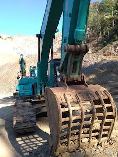 Dijual Excavator Kobelco SK200-10 Tahun 2017