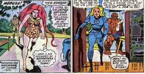 Fantastic Four 151-RichBuckler-Medusa-Thundra