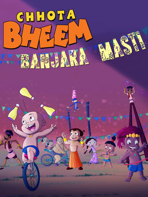 Chhota Bheem In  Banjara Masti Full Movie Images In 720P