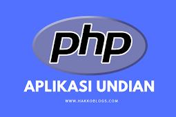 Aplikasi undian doorprize dengan PHP dan MySQLi Free