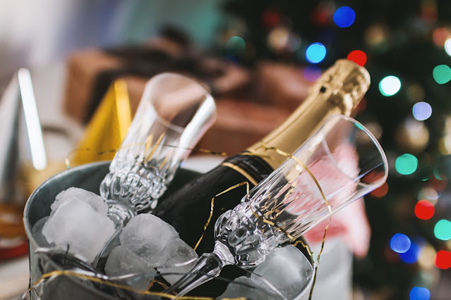 Champagne New year image