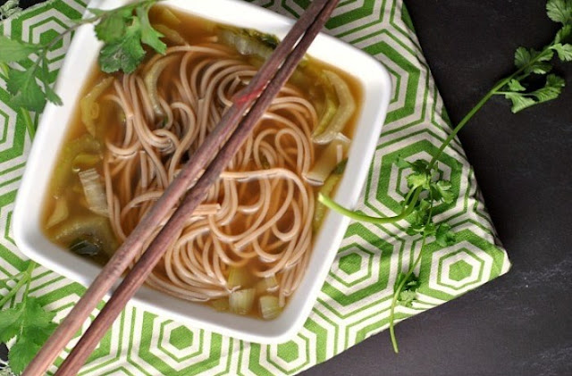 Quick & Easy Chinese Noodle Soup #dinner #soup