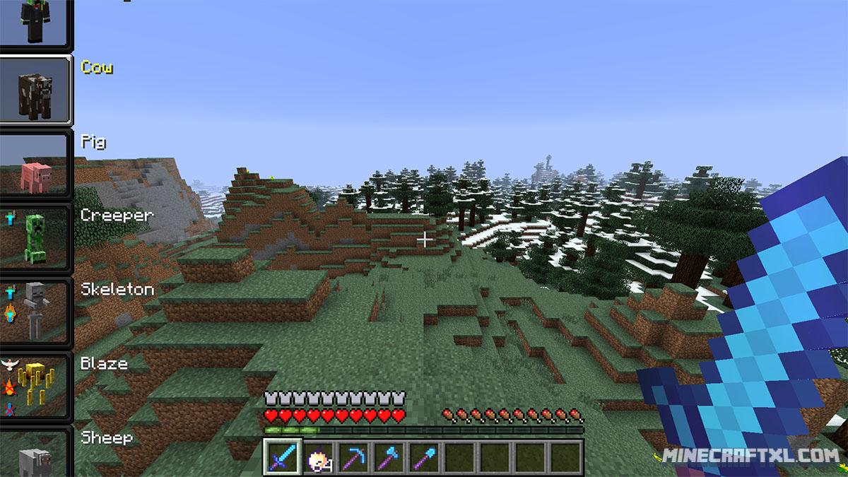 скачать мод для minecraft 1.7.10