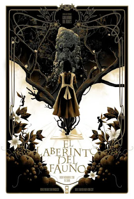 Pan's Labyrinth Screen Print by Matt Taylor x Spoke Art