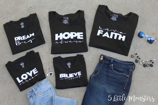 Inspirational T-Shirts with Cricut