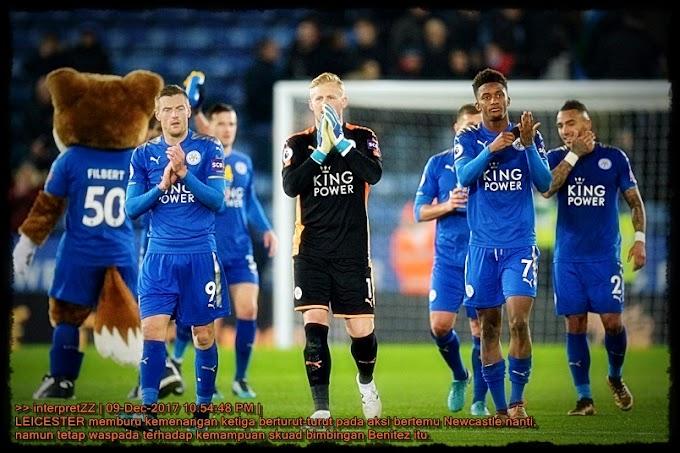 Leicester tetap hormati kemampuan Newcastle