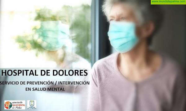 El Cabildo y Salud Mental La Palma colaboran para mejorar la atención a los pacientes del Hospital de Dolores