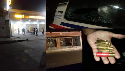 Bandidos atiram na polícia e explodem três agências bancárias em Tutóia